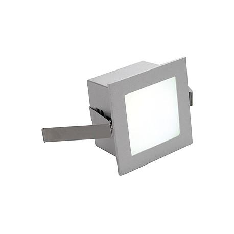 FRAME BASIC LED encastré. carré. gris argent. LED 3000K
