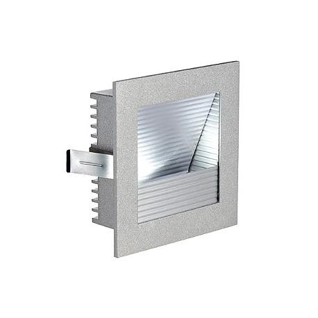 FRAME CURVE LED encastré. carré. gris argent. LED 3000K
