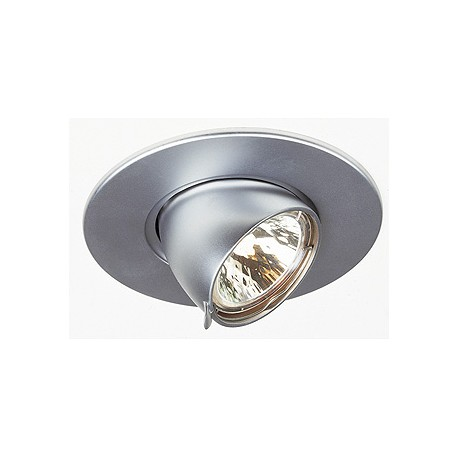 GIMBLE ROND MR16 encastré. rond. chrome mat. max. 50W. orientable