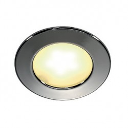 DL 126 LED. encastré rond. chrome. 3W LED 3000K. 12V