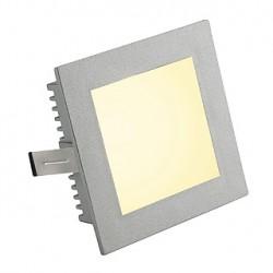 FLAT FRAME BASIC encastré. carré. gris argent. G4. max. 20W