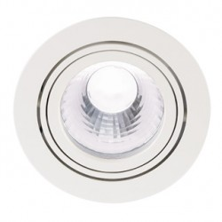 NEW TRIA LED DISK encastré. rond. blanc. 4000K. 35 degrés. clips ressorts