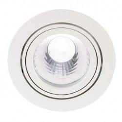 NEW TRIA LED DISK encastré. rond. blanc. 4000K. 60 degrés. clips ressorts