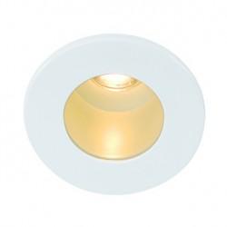 TRITON MINI LED encastré. rond. blanc. 1W LED. blanc chaud