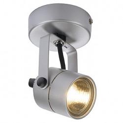 SPOT 79 230V applique et plafonnier. gris argent. GU10. max. 50W