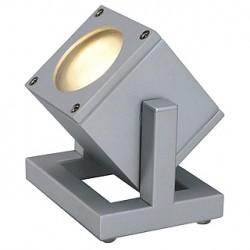 CUBIX 1 projecteur. gris argent. GU10. éco. énergie max. 25W