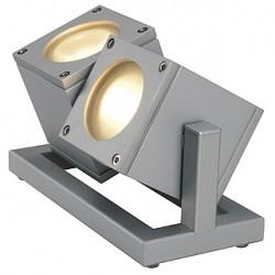 CUBIX 2 projecteur. gris argent. 2x GU10. éco. énergie max. 2x 25W