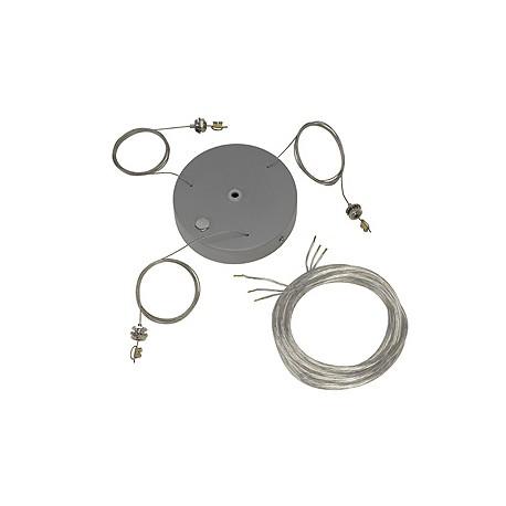 Kit de suspension pour MEDO PRO. gris argent
