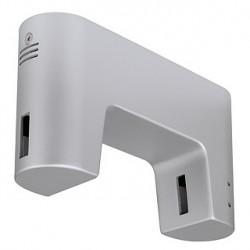 SHORTBOX transformateur pour LINUX LIGHT. gris argent. 20-105VA