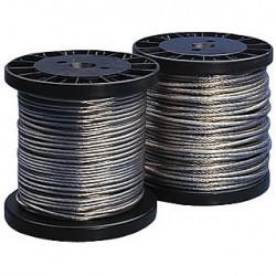 Câble T.B.T. isolé. 4mm². 100m