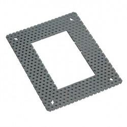 Cadre de fixation pour DOWNUNDER PUR carré. 80x120mm