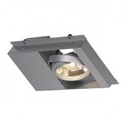 MODULE 1 QRB111 pour SYSTÈME AIXLIGHT PENDANT. gris argent. max. 100W