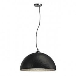 FORCHINI PD-1 suspension. ronde. noir/gris argent. E27. max. 40W