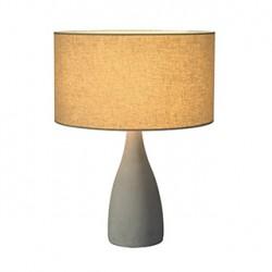SOPRANA SOLID TL-2. lampe à poser. ronde. diffuseur gris-beige. E27. max.40W