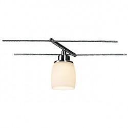 SURA spot pour câble tendu. chrome. céramique blanche. GY6.35. max. 50W