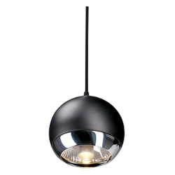 LIGHT EYE SUSPENSION. pour EASYTEC II. chrome/noir. GU10. max. 75W