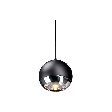 LIGHT EYE SUSPENSION. pour EASYTEC II. chrome/noir. GU10. max. 75W