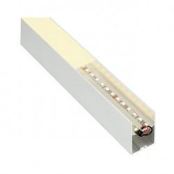 GLENOS profil professionnel 4970-200. 2m. blanc. avec diffuseur