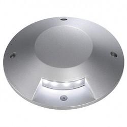 BIG LED PLOT rond. 1 fenêtre. gris argent