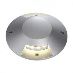 BIG LED PLOT rond. 2 fenêtres. gris argent