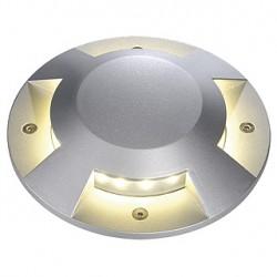 BIG LED PLOT rond. 4 fenêtres. gris argent