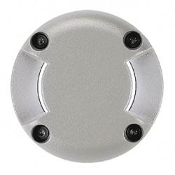 LED PLOT rond. 2 fenêtres. gris argent