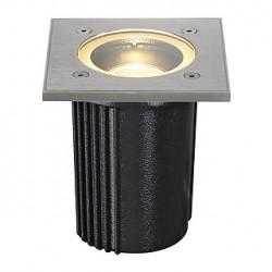 DASAR EXACT GU10 encastré de sol. carré. inox 316. max. 35W. IP67