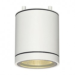 ENOLA_C OUT CL plafonnier. rond. blanc. 9W LED. 3000K. 35 degrés