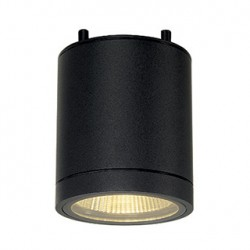 ENOLA_C OUT CL plafonnier. rond. anthracite. 9W LED. 3000K. 35 degrés