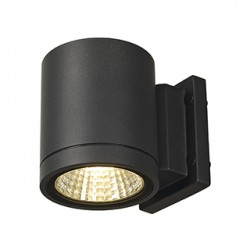 ENOLA_C OUT WL applique. ronde. anthracite. 9W LED. 3000K. 35 degrés