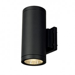 ENOLA_C OUT UP-DOWN applique. ronde. anthracite. 9W LED. 3000K