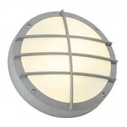BULAN GRID applique. ronde. gris argent. E27. max. 2x 25W. diffuseur PVC