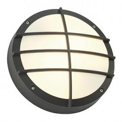 BULAN GRID applique. ronde. anthracite. E27. max. 2x 25W. diffuseur PVC
