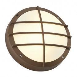BULAN GRID applique. ronde. fonte rouillée. E27. max. 2x 25W. diffuseur PVC