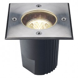 DASAR 115 MR16. fixe. carré. inox 316. max. 35W. IP67