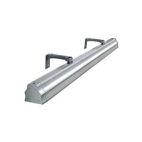 VANO DISPLAY luminaire extérieur. gris argent. 2xT5 éco.énergie. max. 2x35W. IP65