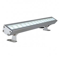 GALEN LED PROFIL. alu anodisé. 15x1W. blanc chaud. IP65