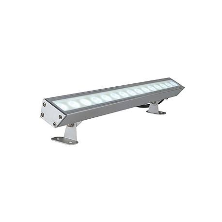 GALEN LED PROFIL. alu anodisé. 15x1W. blanc. IP65