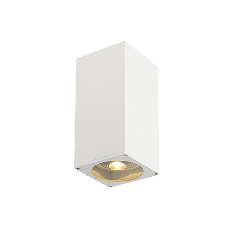 BIG THEO UP/DOWN OUT applique. carrée. blanc. ES111. max. 2x75W