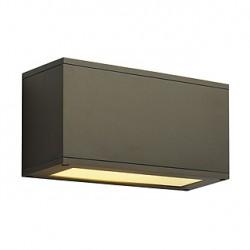 THEOS 102 E27 applique. carrée. bronze. max. 24W. up/down