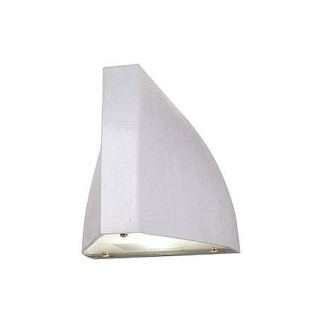 TENDA LED applique. alu brossé. LED blanc chaud