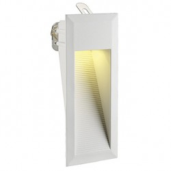 DOWNUNDER LED 15 encastré mural. blanc. 0.9W. blanc chaud. IP44