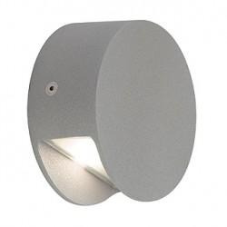 PEMA LED applique. gris argent. 1x 3.3W. 3200K