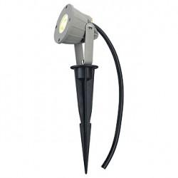NAUTILUS PIQUET LED COMPACT. gris argent. 230V. 3.3W. 3000K. IP44