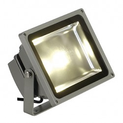 LED OUTDOOR BEAM. gris argent. 30W. 3000K. 100 degrés. IP65
