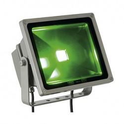 RGB FLOOD 30W. gris argent. LED RGB 3en1 pour LIM. 130 degrés. IP65