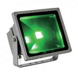 FLOODI 30W (RF). projecteur ext. gris argent. LED 3en1 RGB. 130 degrés. IP65. avec télécommande