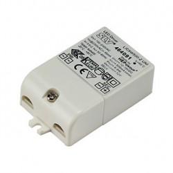 ALIMENTATION LED. 9VA. 500mA. serre-câble inclus