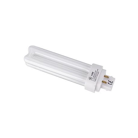 Lampe fluo compact TC-D/E 13W. 4000K. 4 broches. pour ballast électronique