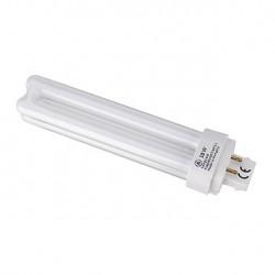 Lampe fluo compact TC-D/E 18W. 3000K. 4 broches. pour ballast électronique